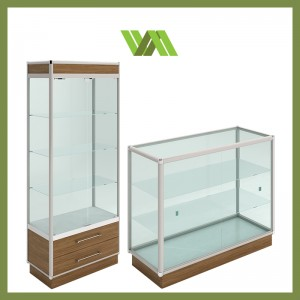 ALUMINIUM GLASS SHOWCASES